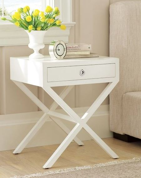 Nightstand with accessories